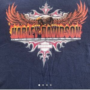 Harley Davidson graphic T